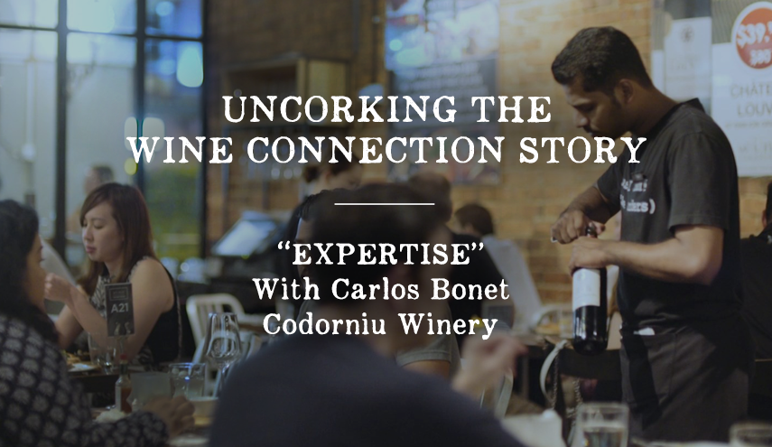 """Uncorking the Wine Connection Story: """"EXPERTISE"""""""